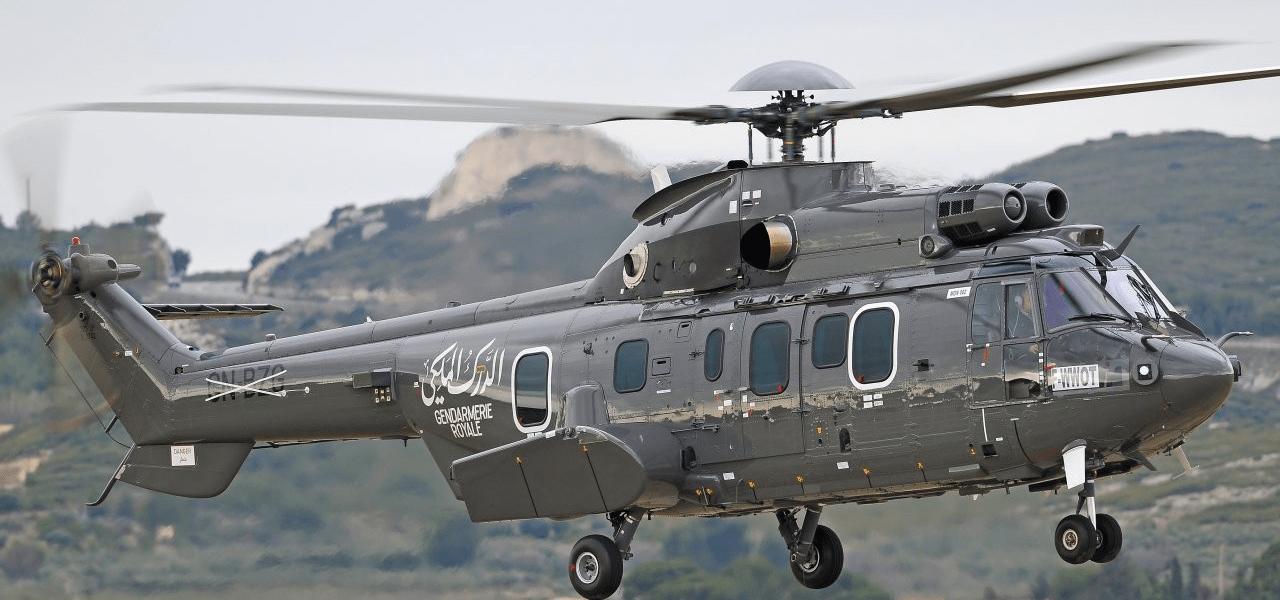 Helikopter van de gendarmerie