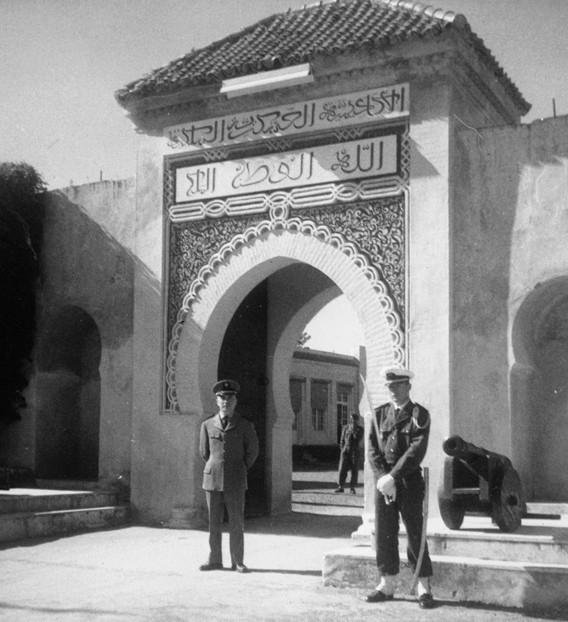 Militaire school van Ahermoumou 1962