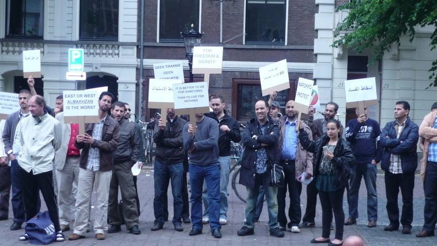 Demonstratie Domplein Utrecht
