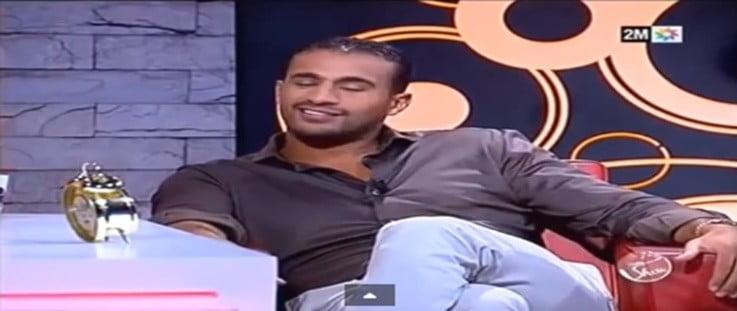Lachende Badr Hari in Ba Rachid Show