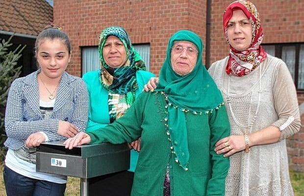 België 4 generaties Turkije/Marokko