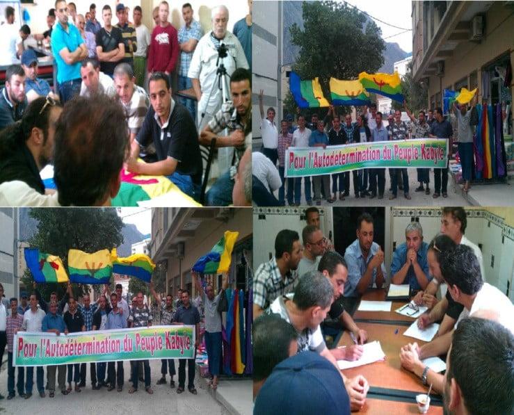 Oprichting van een nieuwe afdeling van het MAK (Beweging voor de Zelfbeschikking van Kabylie)