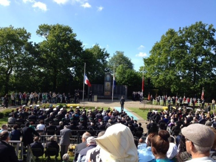 Kapelle herdenkt gesneuvelde Franse en Marokkaanse soldaten