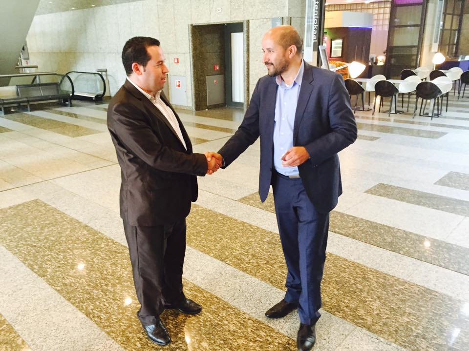Marcouch ontvangt Riffijnse beweging voor autonomie in parlement