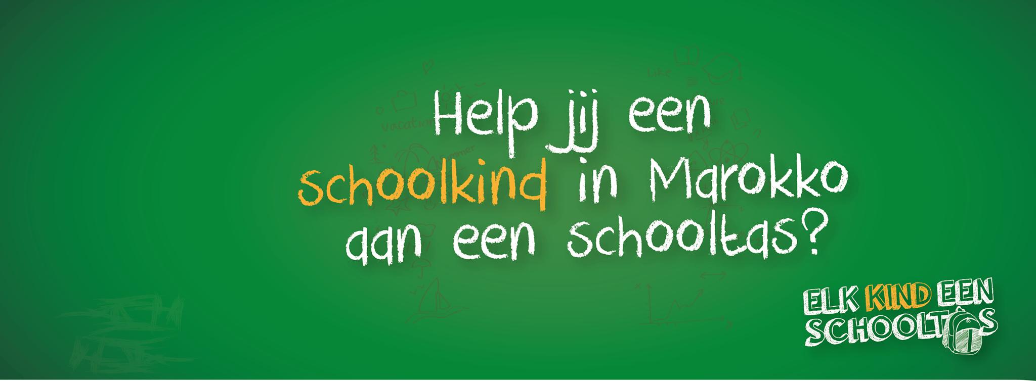 Hartverwarmende actie voor arme schoolkinderen Marokko, help mee!