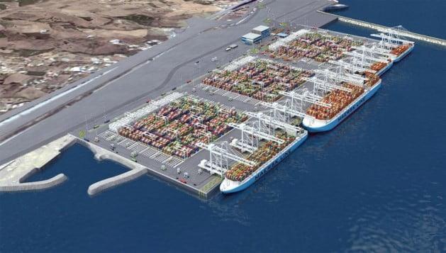 Simulatie van de toekomstige terminal Foto: Willemen Groep