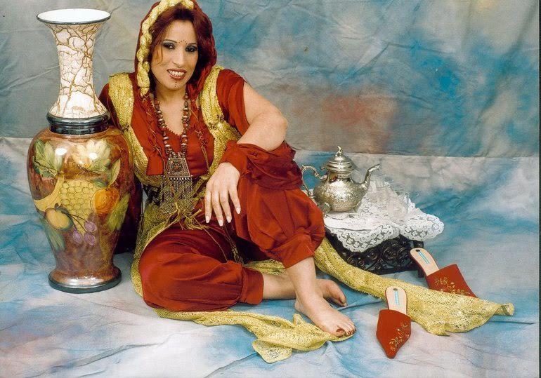 Najat Aâtabou op Amazigh Nieuwjaarsfeest Den Haag