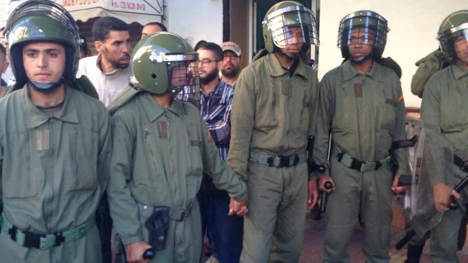 Internationale  vraagt om de onmiddellijke vrijlating van Riffijnse-politieke gevangenen