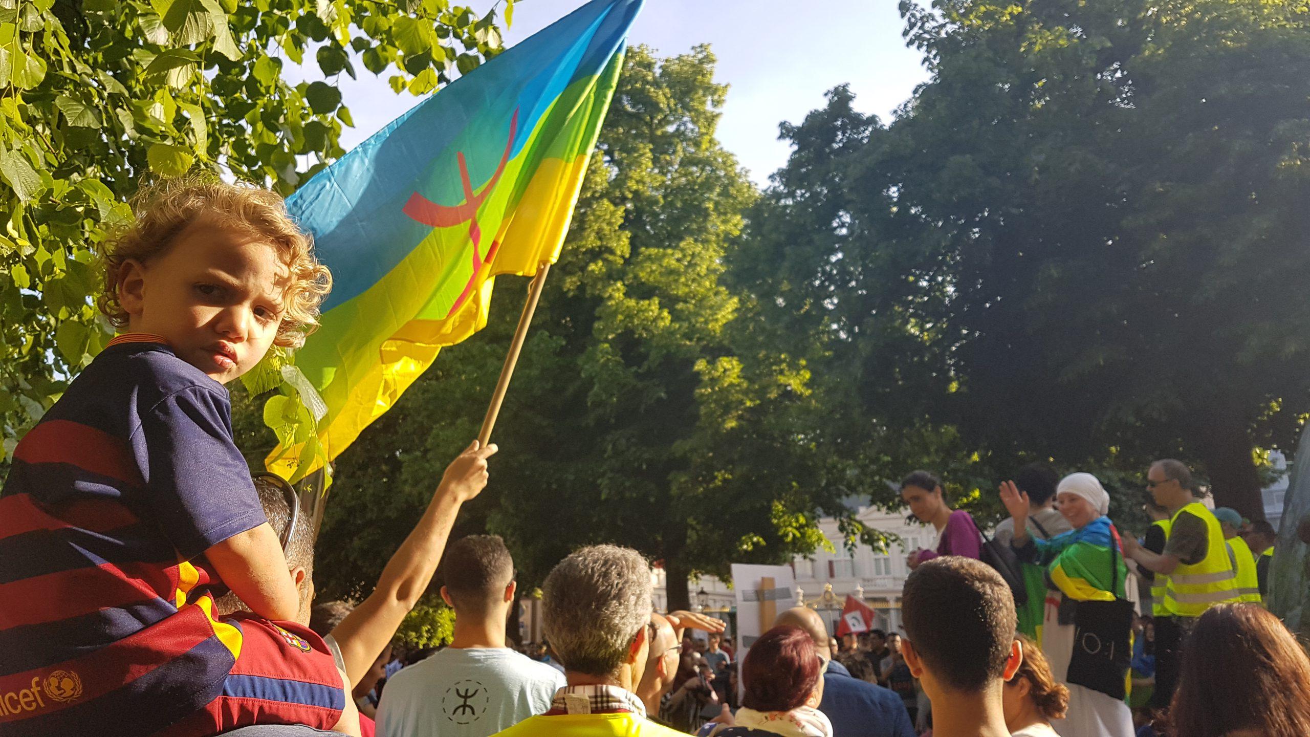Riffijnen in EU solidair met de Rif beweging