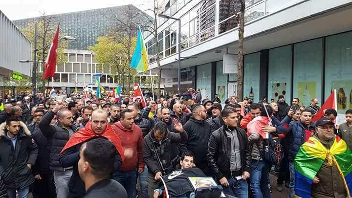 Rotterdamse stille tocht voor Riffijnse activisten