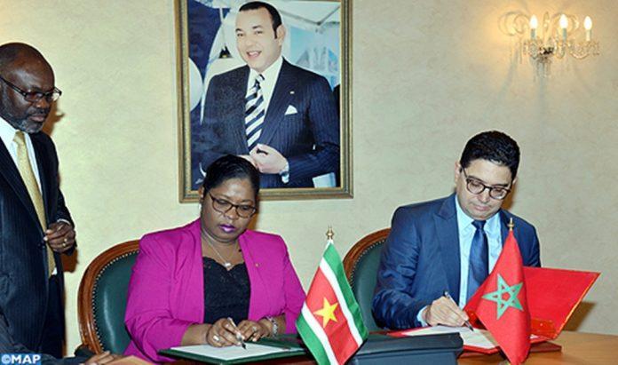 Suriname trekt banden met Marokko strakker aan