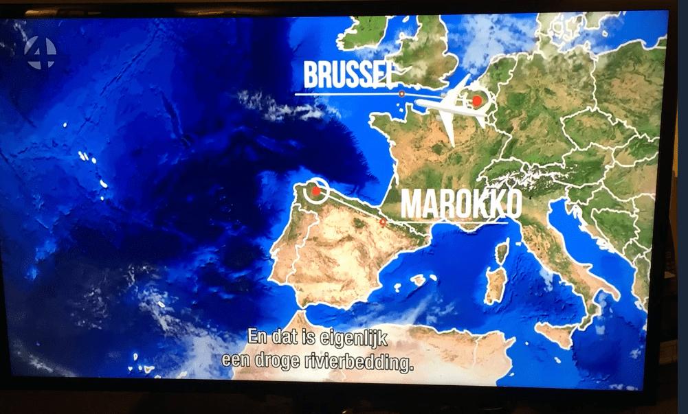 Sinds wanneer ligt Marokko in Spanje?