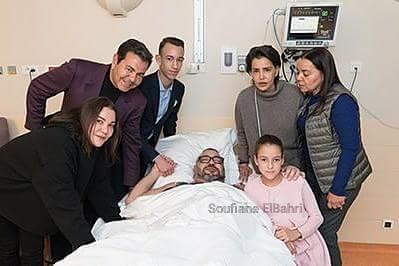 Mohammed VI in Frankrijk geopereerd