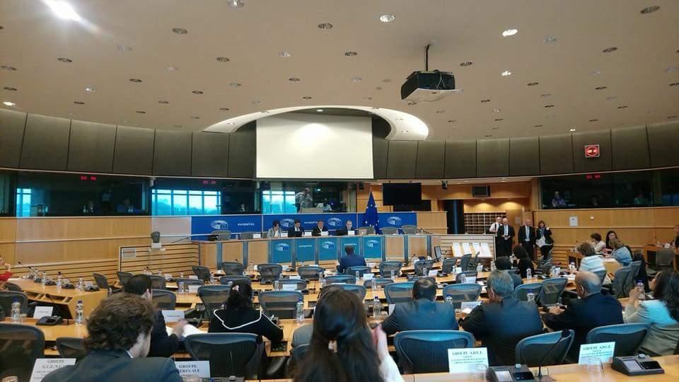 Driss Yazami spreekt over de mensenrechten in Marokko