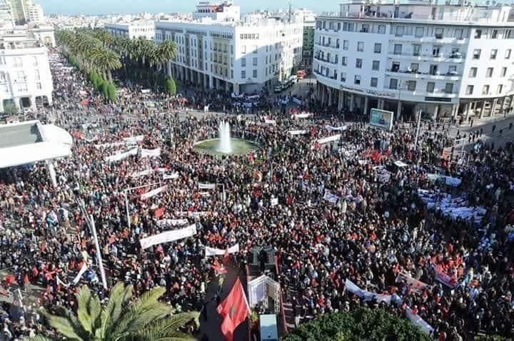 Solidariteit zwelt in Marokko na hardhandig optreden tegen vrije meningsuiting