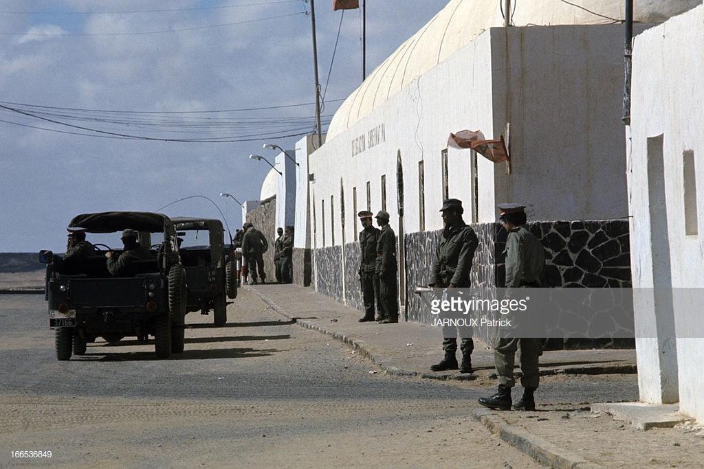 Gendarmes in Westelijke Sahara