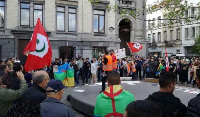 Honderden Riffijnen op straat voor Rif in Brussel
