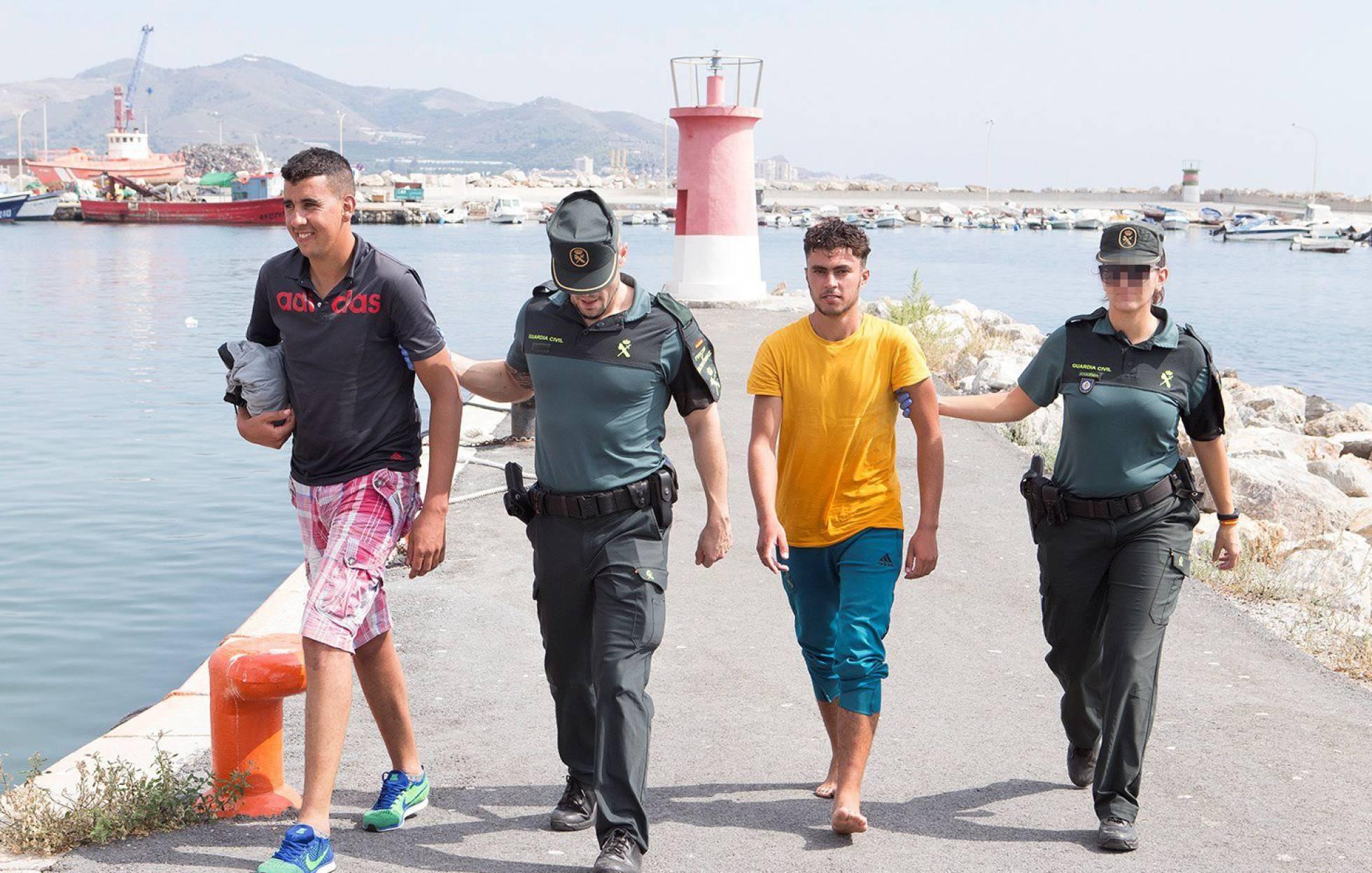 Spanje maakt zich zorgen over het aantal Riffijnse asielzoekers