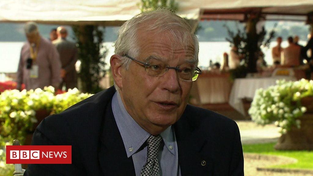 Foto: BBC/ Spaanse minister van Buitenlandse