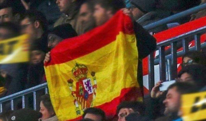 Marokkaanse supporters riskeert 5 jaar cel voor hijsen Spaanse vlag