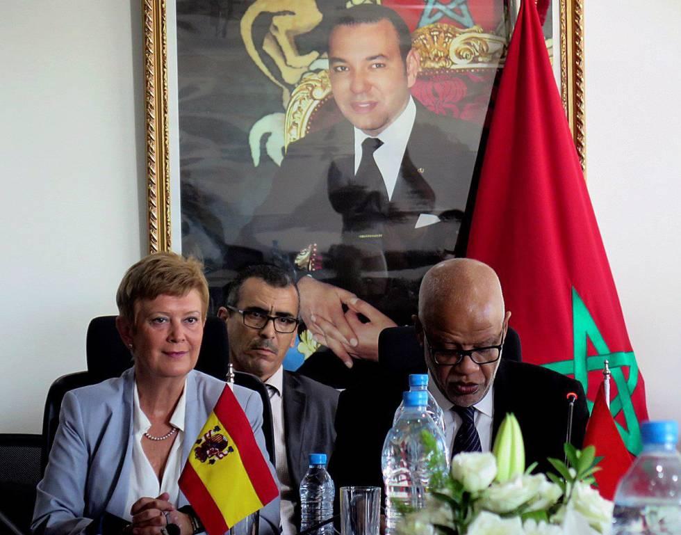 Spanje steunt het migratiebeleid van Marokko