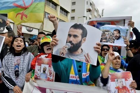 Leiders van Hirak uit Rif zijn al 22 dagen in hongerstaking