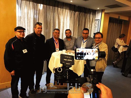 De Makhzen kliek kwam afgelopen zaterdag in Brussel bijeen om te praten over de beeldvorming van Marokkanen in de westerse media