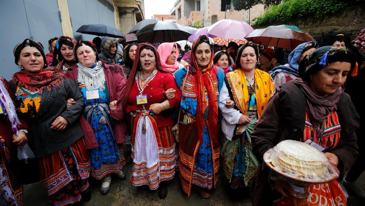 Noem ons geen Berber, wij zijn Imazighen