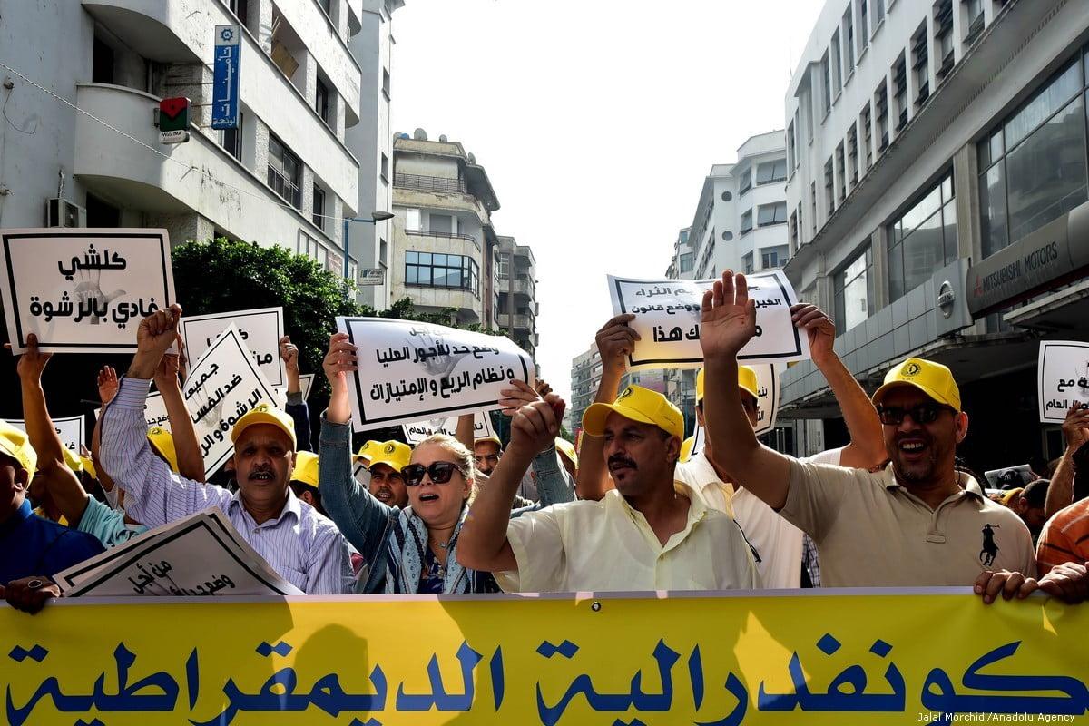 Protesten in Marokko eisen verbetering van sociale en mensenrechtenomstandigheden